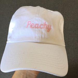 Peachy Brandy Melville cap